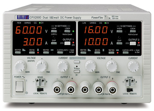 Aim-TTI CPX400DP Bench/System DC Power Supply, PowerFlex Regulation, Smart Analog Controls Dual Outputs, 2 x 60V/20A 420W, USB, RS232 LAN & GPIB Interfaces