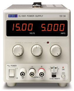 Aim-TTI EL183R Bench DC Power Supply, Linear Regulation, Analog Controls 18V/3A Single