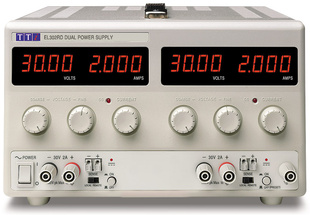 Aim-TTI EL302RD Bench DC Power Supply, Linear Regulation, Analog Controls 2 x 30V/2A Dual Outputs