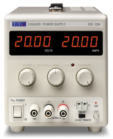 Aim-TTI EX2020R Bench DC Power Supply, Mixed-mode Regulation, Analog Controls 20V/20A Single