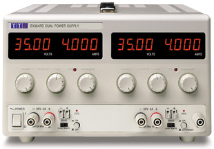 Aim-TTI EX354RD Bench DC Power Supply, Mixed-mode Regulation, Analog Controls Dual Output 2 x 35V/4A