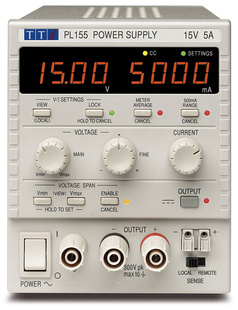 Aim-TTI PL303-P Bench System DC Power Supply, Linear Regulation, Smart Analog Controls Single Output, 30V/3A, USB, RS232 & LAN, GPIB Interfaces