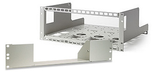 AIM-TTI_RM300A 3U Rack Mount for half rack width instruments, includes one 1/2 width blanking plate