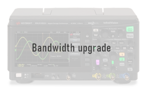 Keysight D1200BW3A Bandwidth upgrade for DSOX1204X, 100 MHz to 200 MHz, fixed perpetual license