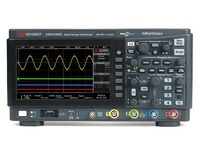 Keysight DSOX1204G Oscilloscope: 70/100/200 MHz, 4 Analog Channels, WaveGen