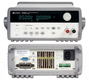 Keysight E3641A DC power supply, dual range: 0-35 V/0.8A and 0-60V/0.5A, 30W. GPIB, RS-232
