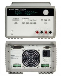 Keysight E3646A DC power supply, dual output, dual range: 0-8V/ 3 A and 0-20V/ 1.5 A, 60 W. GPIB