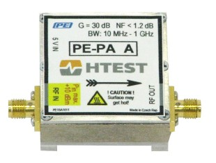 H TEST PE-PA C - USB powered RF preamplifier