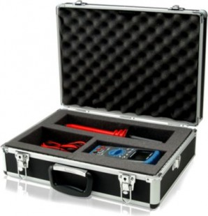Keysight U1172A Transit case for handheld DMM, aluminum-clad
